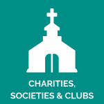 Charities, societies & clubs